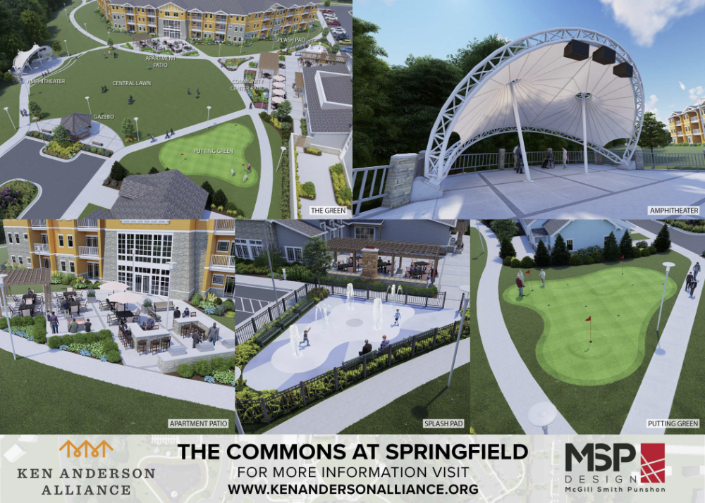 amenities of Commons at Springfield Ken Anderson Alliance LIVE Community
